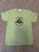 Dub Vendor Reggae Specialist T-Shirt - ROUNDEL - Military Green / Black (Various Sizes)